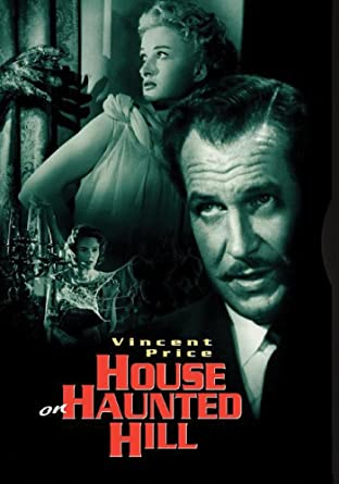 Amazon Com House On Haunted Hill Vincent Price 1959 Dvd William Castle Robb White Robb White Vincent Price Carolyn Craig Elisha Cook Carol Ohmart Alan Marshal Julie Mitchum Richard Long William Castle Movies