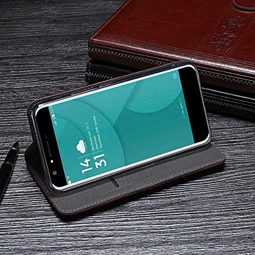 Amazon.com: Case for Doogee Y6, PU Leather Stand Wallet Flip ...