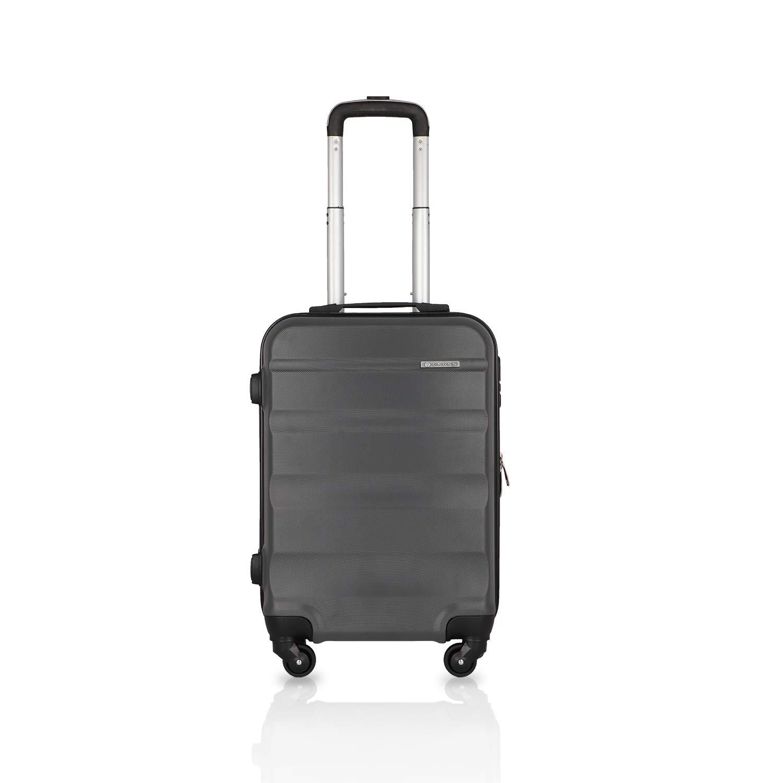 Cross Torpedo Polycarbonate 57 cms Dark Grey Hardsided Cabin Luggage (AC2992264_4-84)