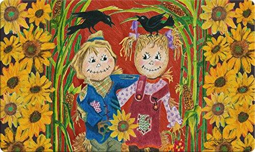 Scarecrow Toland - Toland Home Garden 800403 Scarecrow Love Doormat, 18