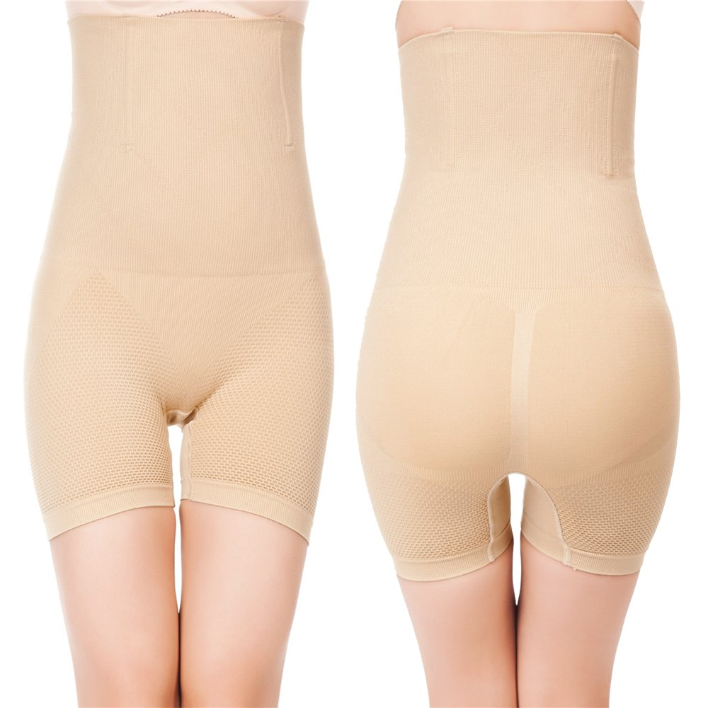 Prime Amazon Day, Womens Shapewear Bodysuit High Waist Tummy Control with Butt Compression Shorts