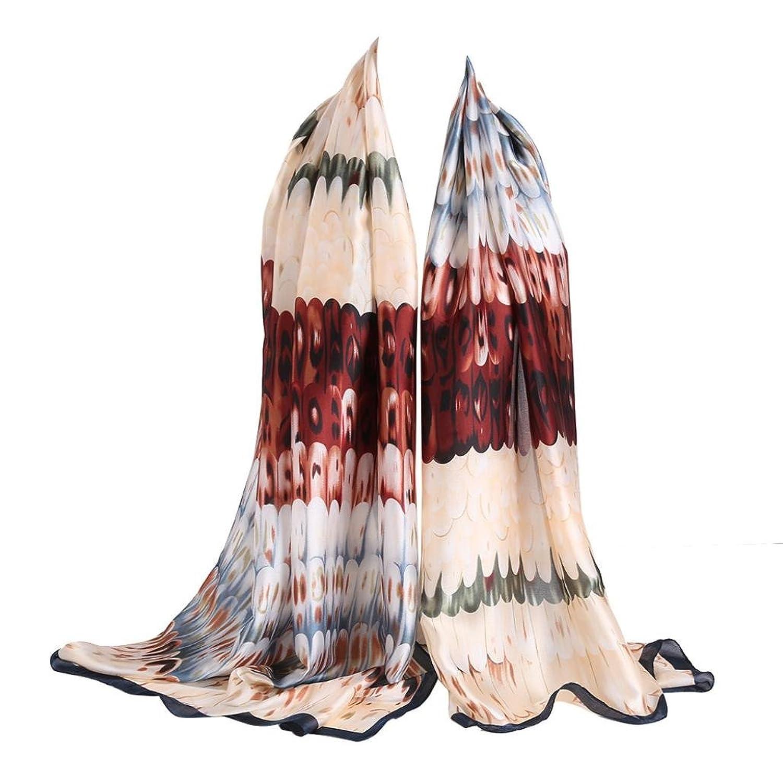 Emubody Women Feather Note Long Scarf Wrap Ladies Shawl Girls Large Scarves