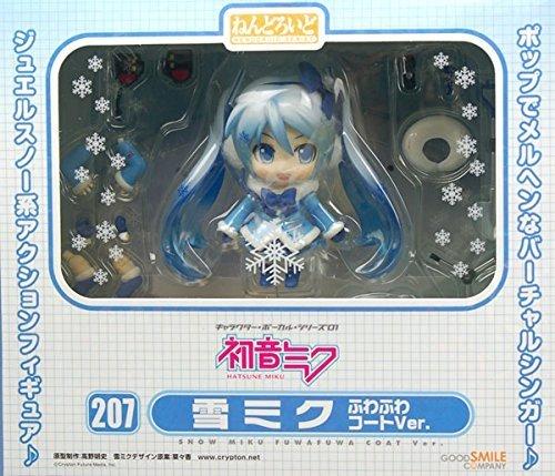 Good Smile Snow Miku: Fluffy Coat Ver. Nendoroid Action Figure