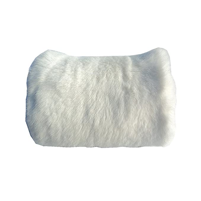 Vintage Scarves- New in the 1920s to 1960s Styles Faux Fur Hand Muffs Women Warm Faux Rabbit Fur Muffs $12.89 AT vintagedancer.com