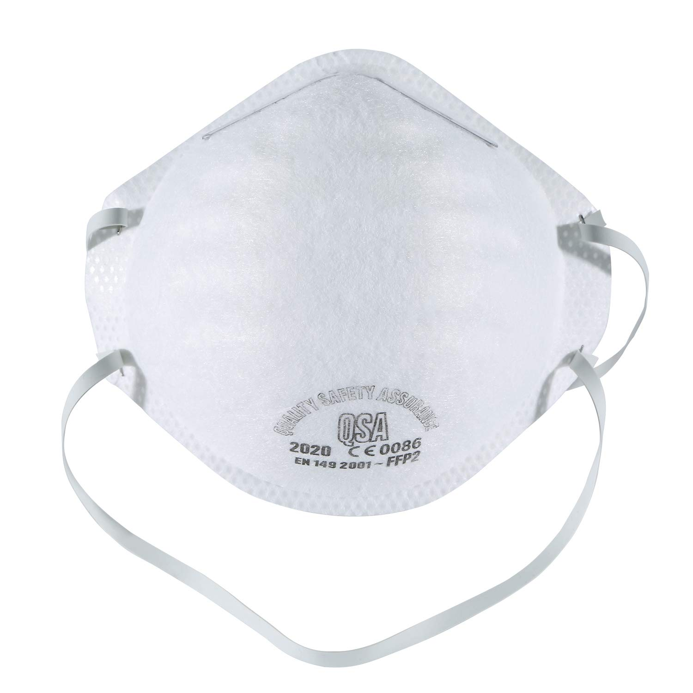 Mascarilla Antipolución N95, Filtro FFP2 98% Bacterias Anti PM2.5 Neumonía Protección contra la Influenza Mascarilla Antipolución Unisex Exterior (12 pcs)