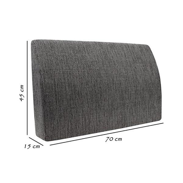 Formalind Die Fantastische Rückenlehne für Bett und Sofa 70 X 45 X 15 cm // Rückenkissen zum Fernsehen und Lesen in…