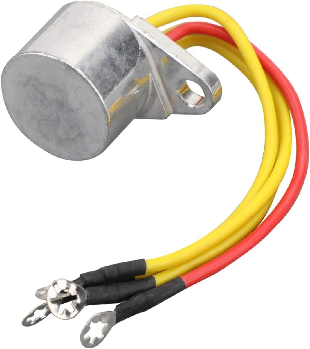 Artudatech Regler Gleichrichter Motorrad 4 Draht Spannungsregler Gleichrichter Passend Für John Son Evinrude Außenborder 4 5hp 60hp 173692 581366 581778 Auto