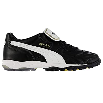 cc3a0e7ba05 Image Unavailable. Image not available for. Color  Puma King Allround Astro  Turf Football Trainers Mens Black White Soccer Shoes ...