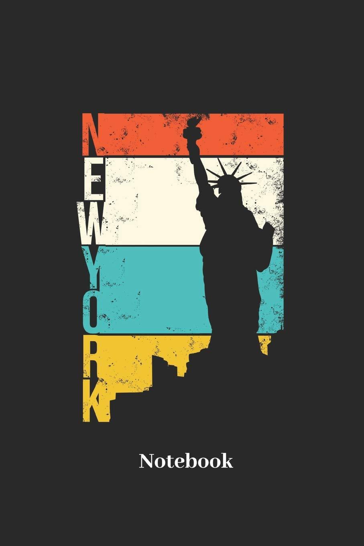 New York Notebook Liniertes Notizbuch Fur Amerika Usa Und Big