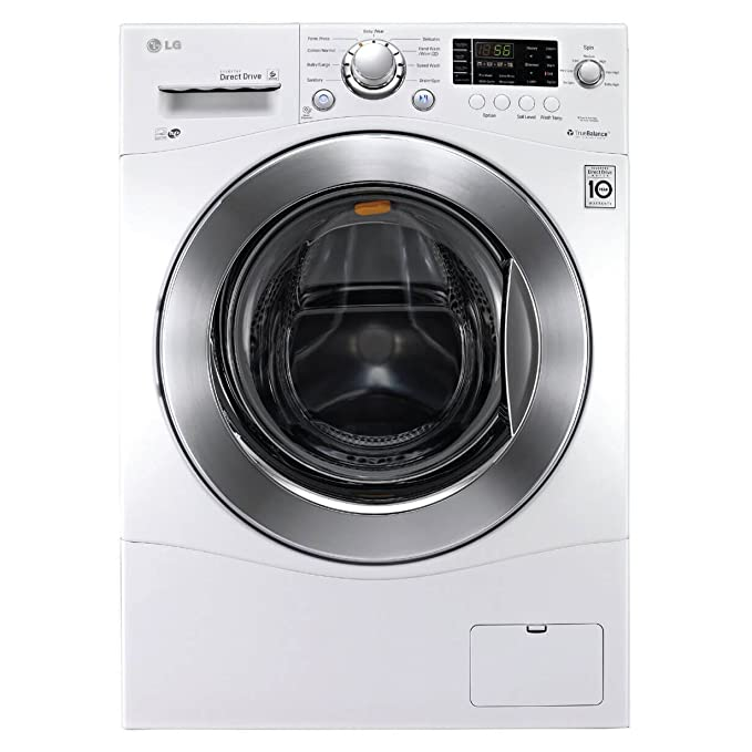 LG WM1388HW 2.3 Cu. Ft. White Stackable Front Load Washer - Energy Star best front-loading washers