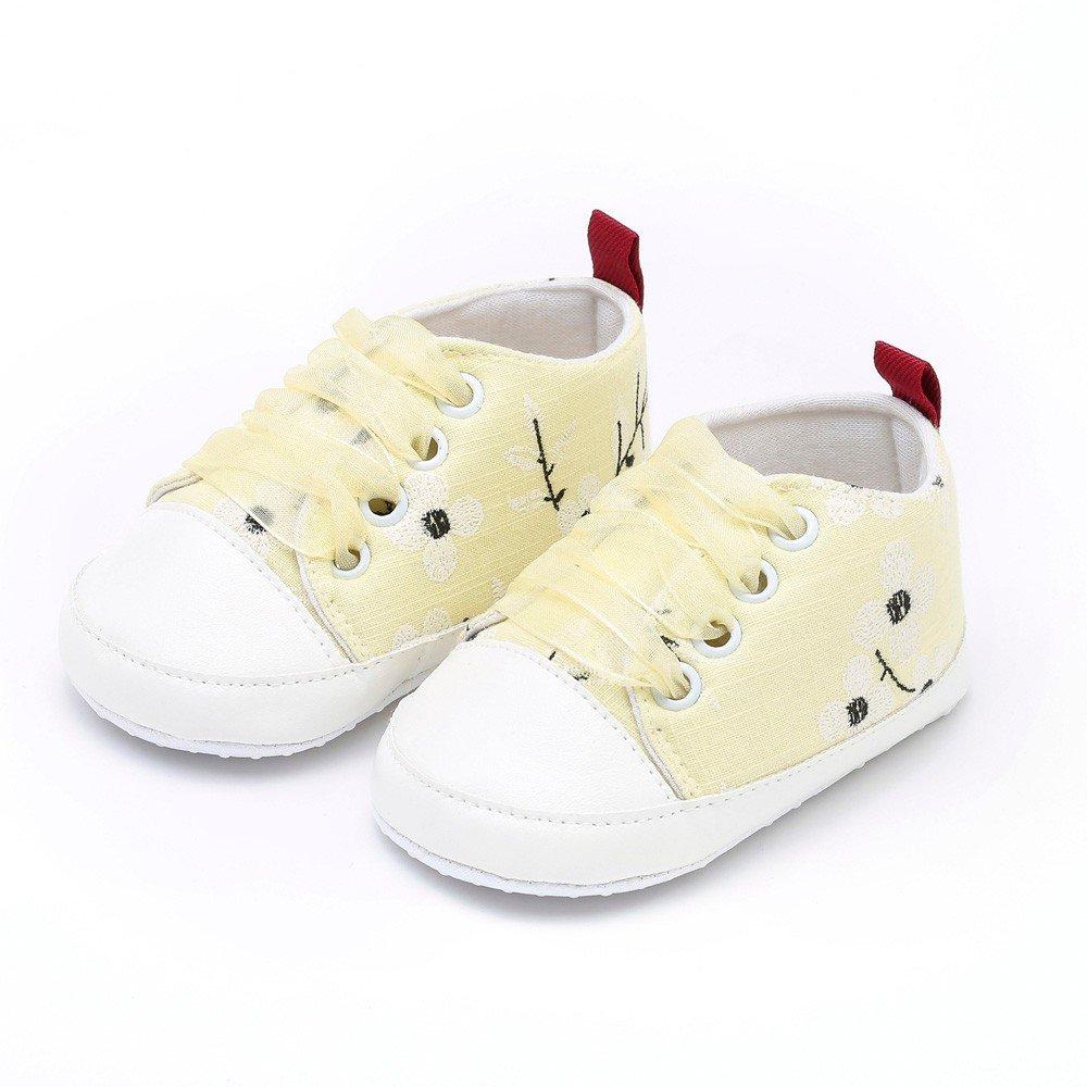 ❤ Zapatos recién Nacidos Bordado de Ciruela, Zapatos de Suela Blanda de Suela Blanda para niños pequeños niños Bordados Florales Absolute: Amazon.es: ...