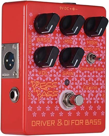 Fesjoy pedales de Pedales de efectos de guitarra eléctrica Red ...