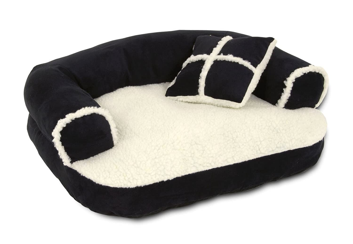 Amazon.com : Petmate Aspen Pet Sofa Bed With Pillow, 20 X 16 ...