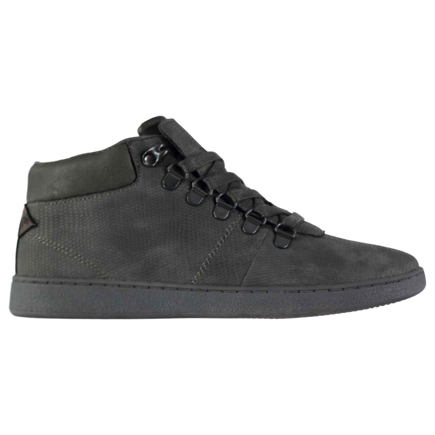 Soviet Kids Bosman Junior Trainers Chukka Boots Lace Up Suede Black UK 5 (38)
