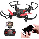 Metakoo M2 RC Mini Drone with HD Camera WiFi FPV Live Video for Kids and Beginners, 2.4GHz 6-Axis 4CH Helicopter, Quadcopter with Altitude Hold, 3D Flips, Headless Mode and One-key Return Functions