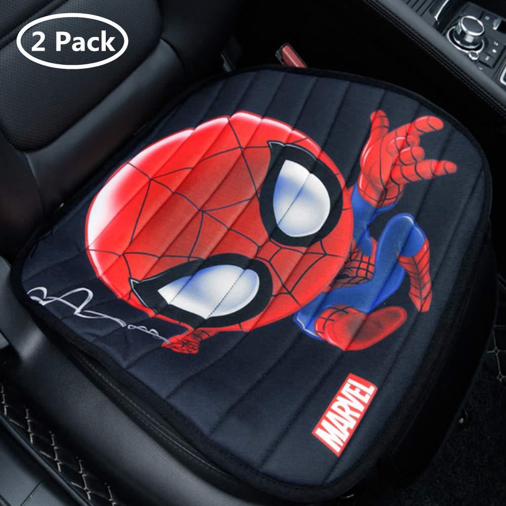 ABYED 1 Pezzi Spider Man Posteriore Coprisedile Auto per seggiolino Auto Comune per Quattro Stagioni,Francia