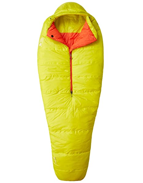 Mountain Hardwear hyperlamina Spark 35 Saco de Dormir – Ginkgo Mano Izquierda Regular