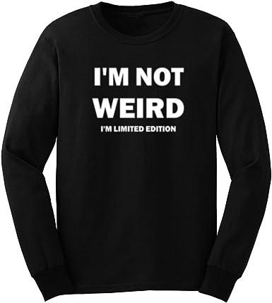 Comical Shirt Mens Its Weird Not to Be Weird Tank Top