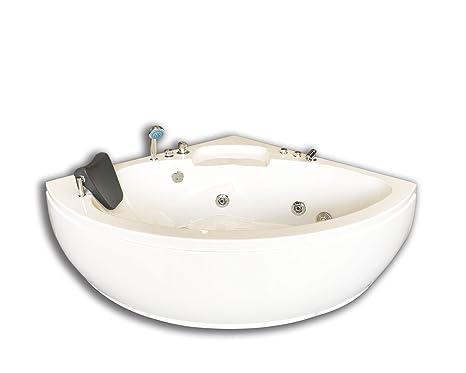 Vasca Da Bagno Angolare Jacuzzi : Vasca bagno idromassaggio modello dubai cm angolare