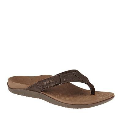 bab80d3b9e92 Vionic Ryder - Mens Orthotic Sandals - Orthaheel Chocolate - 5 ...