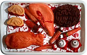 Halloween Decorations Table Decor Scary Meat Body Organ Parts Hounted House Party Supplies