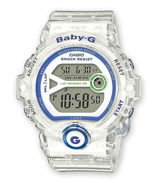 Casio Reloj Digital para Mujer de Cuarzo con Correa en Plástico BG-6903-7DER: Amazon.es: Relojes
