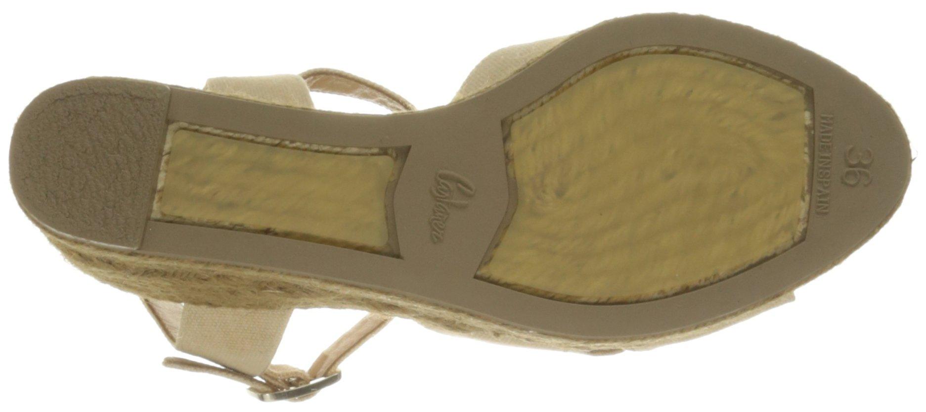 Castaner Women's Blaudell Platform Sandal, Nude (Beige), 37 EU/6.5 N US by Castaner (Image #3)