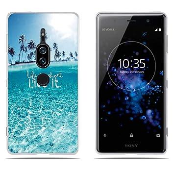 DIKAS Compatible with Funda para Sony Xperia XZ2 Premium, Silicona ...