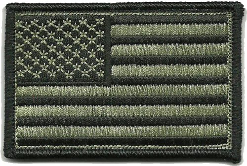 Tactical USA Flag Patch - ACU/Foliage - Military Acu Patches