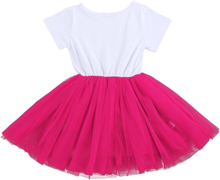 f852bad3c9d1 Amazon.com  Kids Girl It s My 1st 2nd Birthday Cake Smash Outfits ...