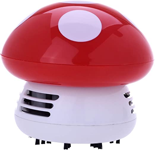 CHAMP HIGH - Mini Aspirador de Mesa Mushroom - Lindo accesorio ...