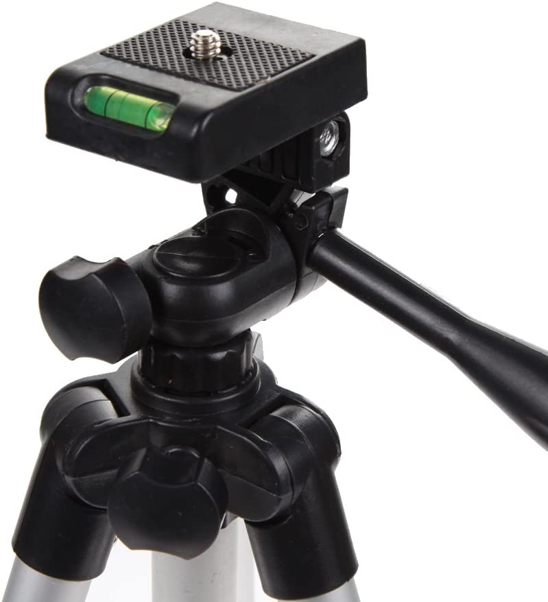 Smartphone Tripod,WinnerEco Retractable Aluminum Tripods,Camera Tripod Stand for iPhone Cellphone with Travel Bag