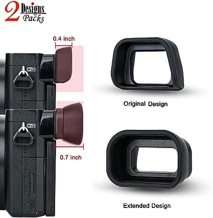 5X FDA-EP10 mirino CONCHIGLIA per Oculare Oculare EYE CUP per Sony A6000 NEX-7 NEX-6 Alpha