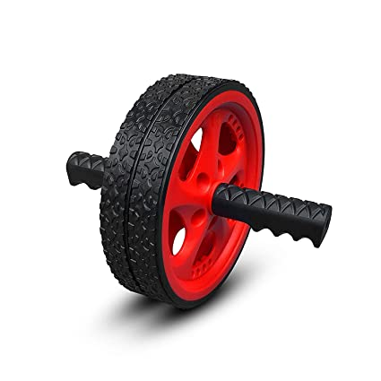 amazon com valeo ab roller wheel, exercise and fitness wheel withvaleo ab roller wheel, exercise and fitness wheel with easy grip handles for core training