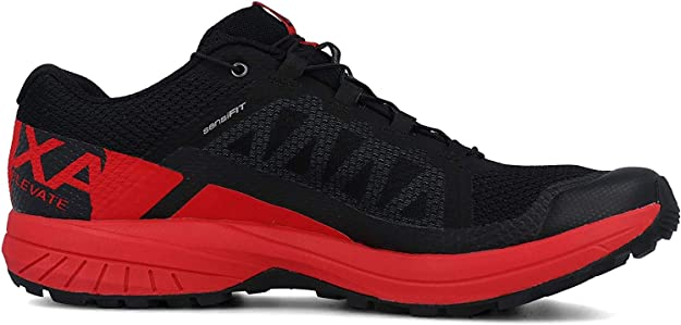 SALOMON XA Elevate Negro Rojo L40659500: Amazon.es: Zapatos y complementos
