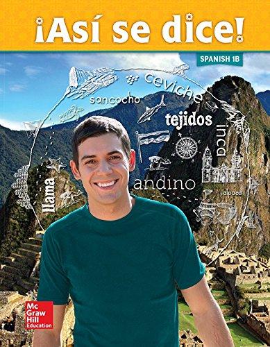 Asi se dice! Level 1B, Student Edition (SPANISH)