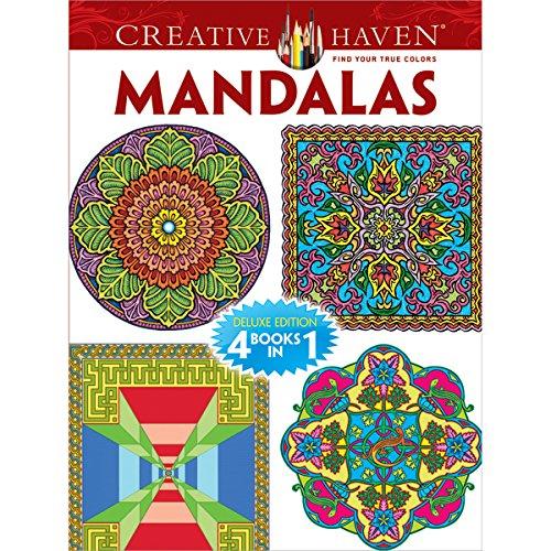 Dover Publications Book, Creative Haven Mandalas
