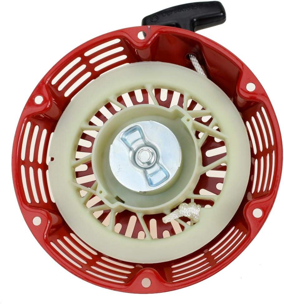 HIAORS Pull Recoil Starter for Honda GX240 8HP GX270 9HP 28400-ZE2-W01ZA 28400-ZE2-W01ZB 28400-ZE2-W01ZN 8HP 9HP Rotary 26-10469 Generator EngineParts