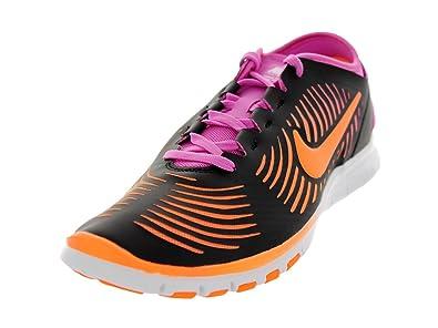 pretty nice 93bfe 35602 Nike Womens Free Balanza - Black   Atomic Orange-Red Violet-White, 7.5