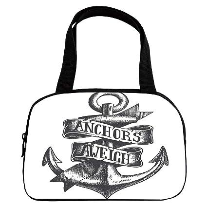 Amazoncom Polychromatic Optional Small Handbag Pink Anchor