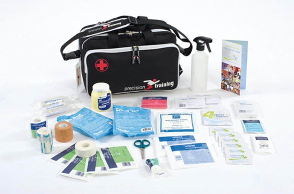 Precision Training Medi 'run-on' Bag Sports Injury First Aid F.a Standard Pack