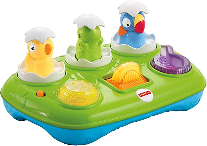 Amazon.com: Fisher-Price Musical Pop-Up huevos: Toys & Games