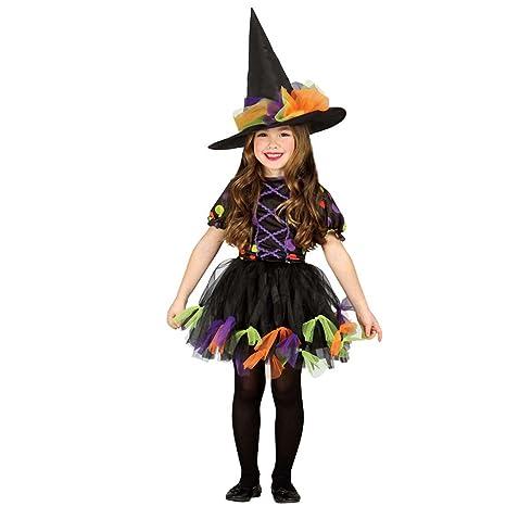 Vestito da strega per bambini Costume da maga L 140 152 cm 10 - 12 ... d781ab0211e0