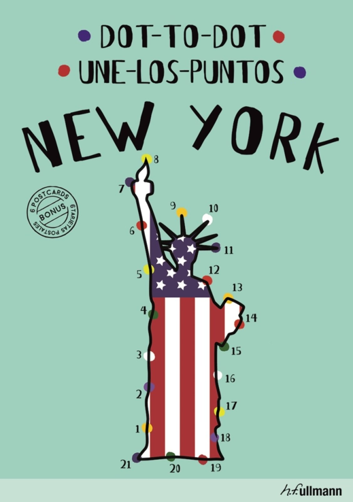 Dot-to-Dot New York (English/Spanish): An Interactive Travel Guide ...
