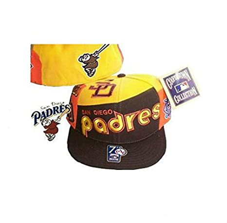 6db76d93b0f Image Unavailable. Image not available for. Color  San Diego Padres FALL  Fitted Size 7 Cooperstown Collection Hat ...