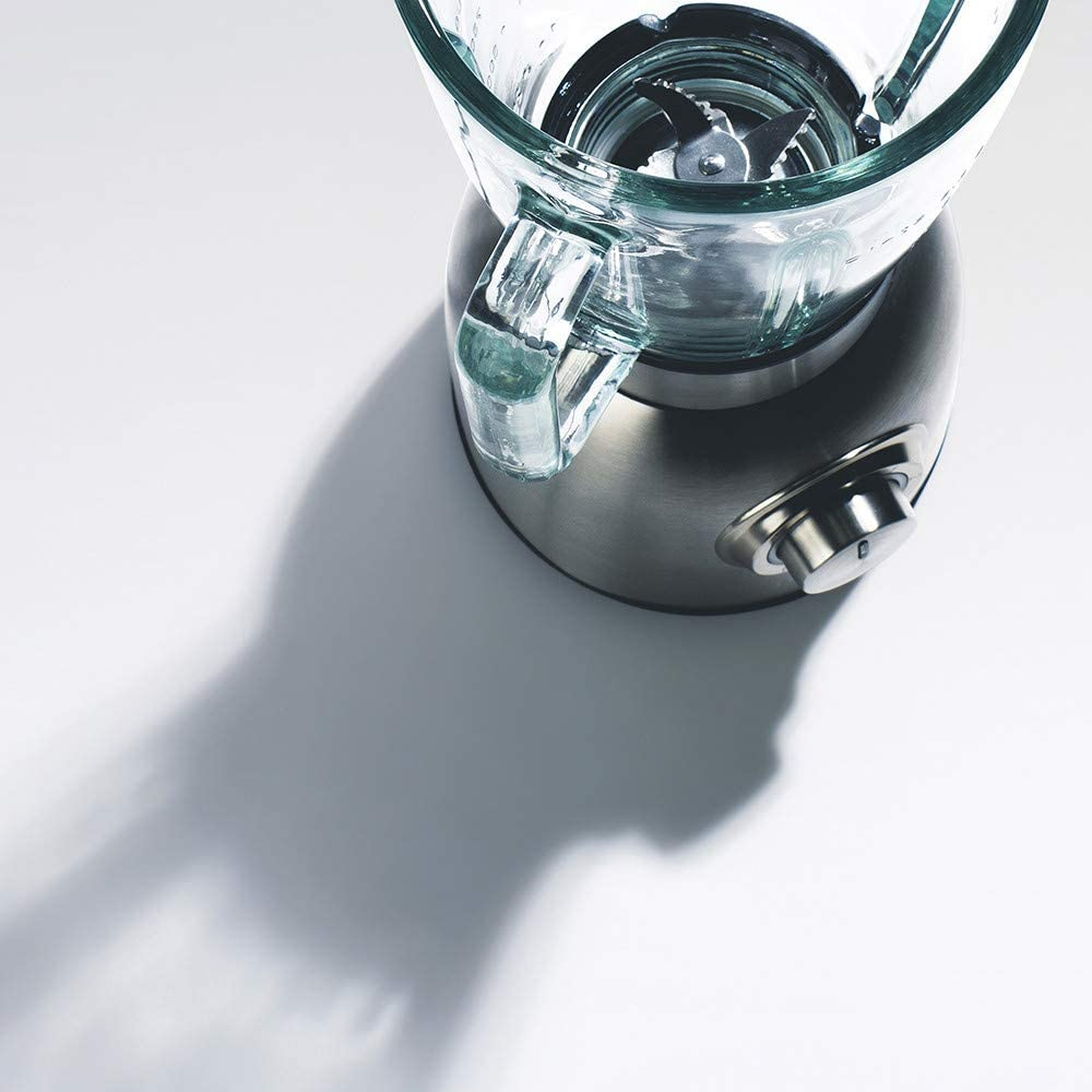 IKOHS Krum Pro - Batidora de Vaso de Cristal, 1250 W, 6 Cuchillas ...