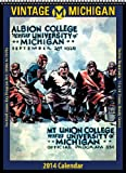 Michigan Wolverines 2014 Vintage Football Calendar by