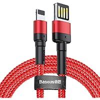 Baseus Cafule Special Edition Lightning Kablo, Iphone, 2.4A, 1M, Kırmızı