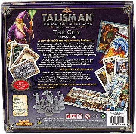 Games Workshop gaw89005 No Talisman: The City Expansion, Juego: Amazon.es: Juguetes y juegos