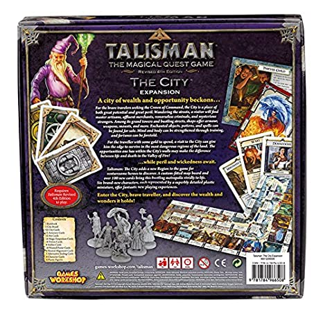 Games Workshop gaw89005 No Talisman: The City Expansion, Juego ...